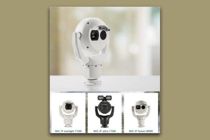 novas cameras bosch