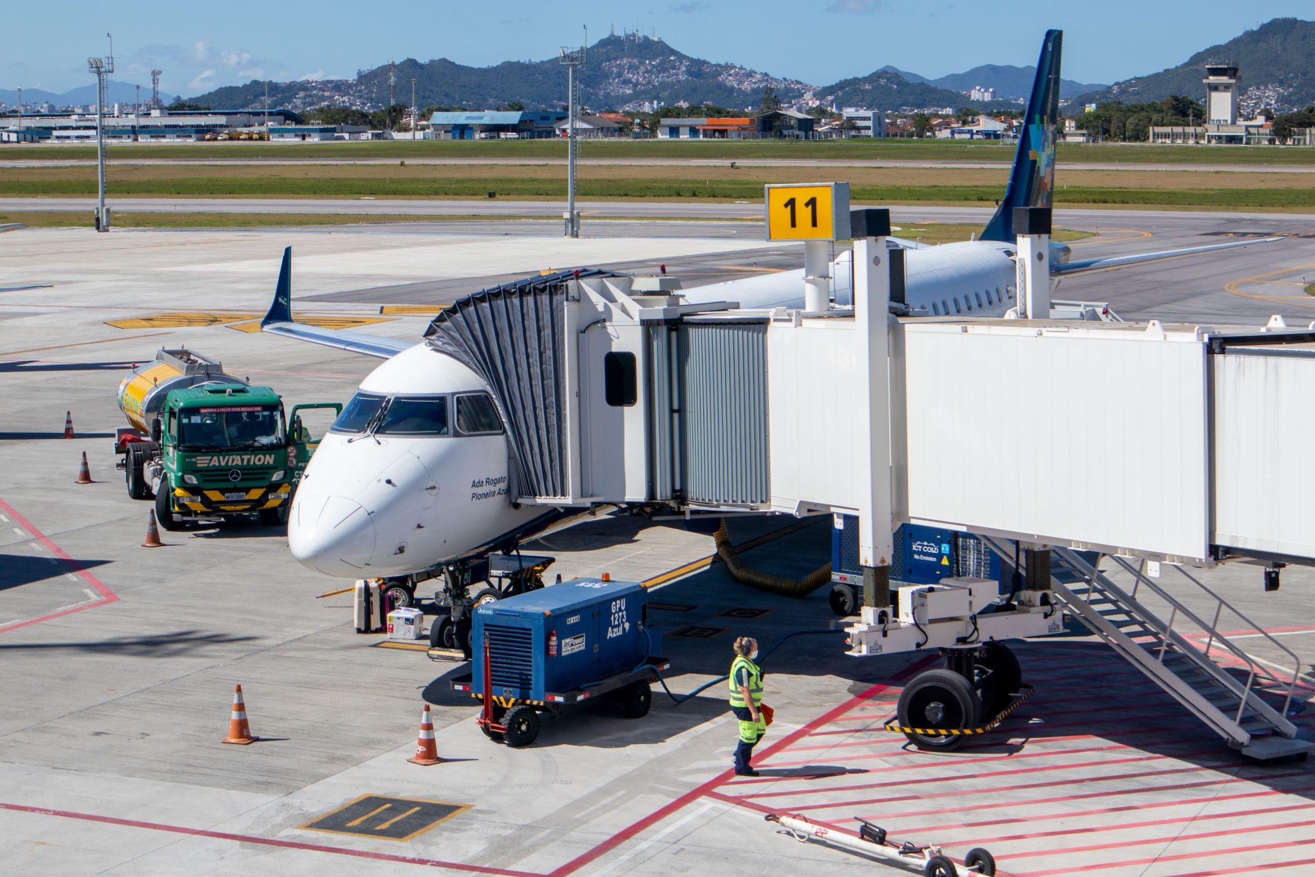Como são os aeroportos seguros